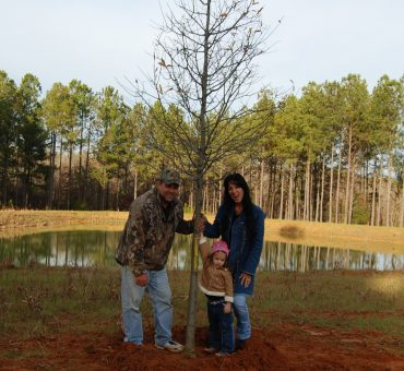 The Gilbert family at there Georgia Hunting Plantation